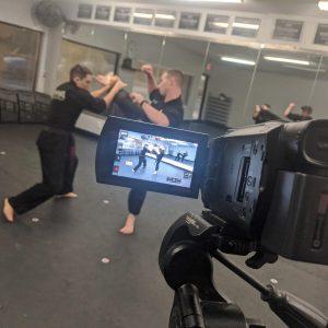 Virtual Dojo Filming